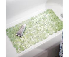 InterDesign 80912EU - Tapete antideslizante para el cuarto de baño, para pisos de cubículo de ducha o de bañera