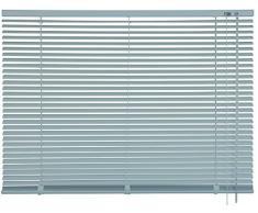 mydeco 62774 Tosca cortina persiana (aluminio, 110 x 175 cm), acero inoxidable/efecto
