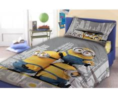 "Minions de almohada para cama infantil de funda de edredón de 140 x 200 cm y funda de almohada de 70 x 90 cm ""le de Buddy"""