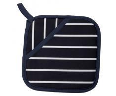 Classic - Manopla de cocina (100% algodón), diseño de rayas