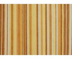 Atenas Home Textile Ibiza - Mantel antimanchas redondo, 50% algodón, 50% poliéster, 160 cm, color amarillo