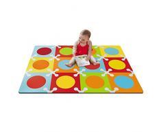 Skip Hop Playspot - Alfombra, multicolor, 140x100 cm