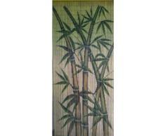 Árboles de bambú cortina de cuentas de bambú