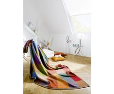 Bocasa Biederlack 150 x 200 cm Colormix algodón Pure manta, Multi-color