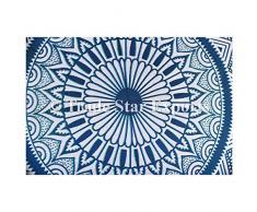 """Ombre Mandala de cojines de suelo tamaño grande, decorativo redondo manta fundas de almohada de 32 """", Indian puf Otomano, Roundie pompón de Boho fundas de almohada, al aire libre cojín,"""