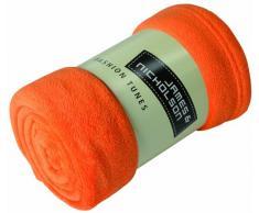 James & Nicholson - Manta (tejido de forro polar, microfibra, 150 x 170 cm) naranja naranja Talla:160x120 cm
