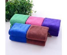 Da.Wa Toallas Limpias Textiles de Baño Toallas de Mano Toallas de Baño Toallas Faciales Peluquería Salón de Belleza Toalla Lavadora Toalla de Playa