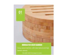 GGFHH Posavasos, Posavasos De Bambú, Tapete Aislante Resistente Al Calor para Cocina O Mesa De Comedor - Juego De 4 (16,5 Cm)