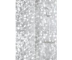 Kleine Wolke - Cortina de Ducha (EVA, 180 x 200 cm, Impermeable), Transparente