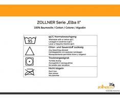 """ZOLLNER® Set de 10 manoplas de baño / guantes de baño de rizo 16x21 cm color verde manzana, disponible en varios colores, del especialista en textiles para hostelería y gastronomía, serie """"Elba II"""""""
