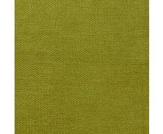 Topfinel juego 2 Fundas cojines Cama Sofas de Chenilla Algodón Lino duradero Almohadas Decorativa de color sólido Para Sala de Estar sofás camas sillas Dormitorio Jardín Coche 40x60cm Verde