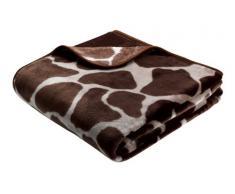 B@Home Biederlack Manta para sofá (220 x 240 cm), diseño de Piel de Jirafa