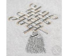 Just Contempo - Toalla (algodón egipcio, 450 gsm), 100% algodón, blanco, toalla de baño (100 x 145 cm, XL)