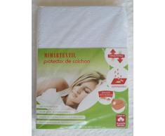 Protector de colchón transpirable e impermeable. Medidas de colchón 150x200x25