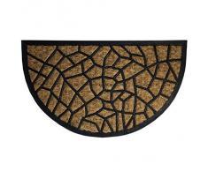 Oryx 5291040 - Felpudo fibra coco y goma, color marrón