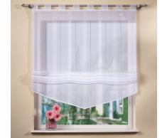 Home fashion 79171-810 - Estor (170 x 100 cm), color blanco