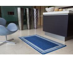 Tapete para Cocina Barato Durable Lavable Multi Usos Azul Llave - Azul Liso - Disponible en 8 tamaños