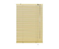 Gardinia 6966 - Persiana enrollable y estor, aluminio de 70 x 175 cm, color beige
