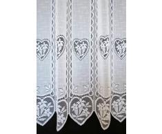 Visillo Color Blanco de 11,5 cm Altura 150 cm