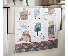 Ulster Weavers - Paño de cocina (algodón), diseño de gatitos