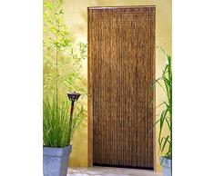 Leguana - Cortina para puerta de bambu saigón xxl 120x220cm !
