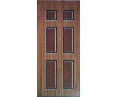 Sintética de madera para puerta de bambú Cortina de cuentas