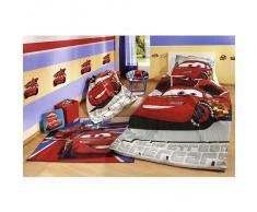 Ropa de cama 135 x 200 cm Disney Cars Superstar y 80 x 80 cm