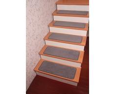 Alfombra de la escalera de la pisada Yinbei itcentre alfombras antideslizantes - pila de Nylon alfombra alfombras - 65,02 cm x 24,89 cm