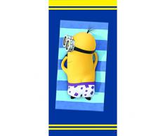 Minions 042479 Cool - Toalla de baño (algodón, 75 x 150 cm), diseño de los minions
