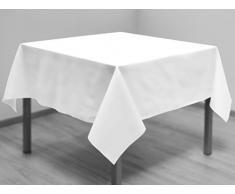 Mantel antimanchas cuadrado 180x180 cm ALIX blanco