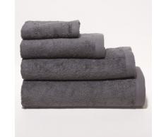 Sancarlos - Toalla rizo premium gris baño - algodón peinado - densidad 550 g - baño 100x150 cm - gris