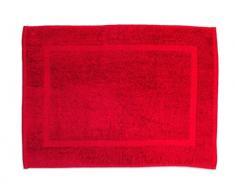 Alfombra de baño UNI roja 900gr/m2