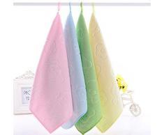 Da.Wa 2X Toallas Limpias Textiles de Baño Toallas de Mano Toallas de Baño Toallas Faciales Peluquería Salón de Belleza Toalla Lavadora Toalla de Playa Toalla de Saliva Para Bebés