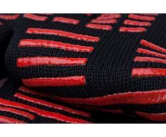 TTLIFE Guantes de cocina para barbacoa BBQ Parilla Horno guantes resistentes al calor hasta- 932°F - 1 Par (corto)
