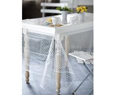 Calitex Agnos mantel PVC transparente mesa redonda 140 cm