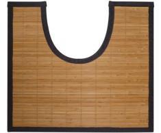 Gelco Design 705365 Okaido Petites - Alfombrilla para inodoro (50 x 45 cm), color marrón