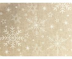 Mantel Antimanchas Navidad Meribel 50%algodón 50%poliéster con protección de resina y Teflón de Dupont®