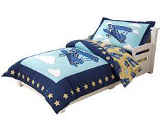 KidKraft 77010 - Ropa de cama infantil, estilo avión
