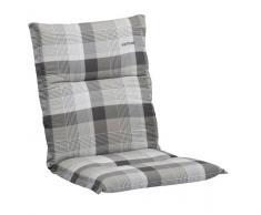 Kettler 0309405-8725 - Cojín para sillas de exterior, 100 x 50 cm, color gris