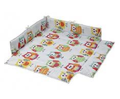 Geuther para niños 1013.32 kg 154 154154 manta acolchada para parque infantil multicolor osos Talla:98 x 98 x 25 cm