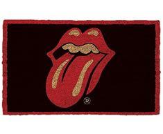 """Rolling Stones """"Labios, Felpudo, fibra de coco), multicolor"""