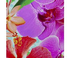 Costura Orchids - Juego de funda nórdica para cama de 180 cm