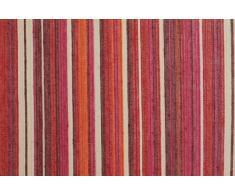 Mantel antimanchas redondo Ibiza 50%algodón 50%poliéster con protección de resina y Teflón de Dupont(R) - D160 - rosa