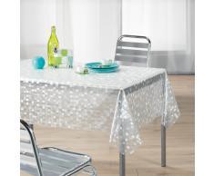 Décor Ligne 1710330 - Mantel de plástico (140 x 240 cm), diseño con mosaico, color transparente