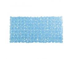 TATAY - Alfombra Baño Azul Pvc Ventosa 36X70 Cm