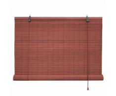 Victoria M - Persiana de bambú por interior, color cereza, tamaño: 80 x 160 cm
