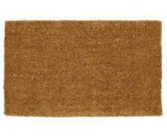William Armes 2340003 - Felpudo de fibra de coco natural, 75 x 45 cm, tejido a mano