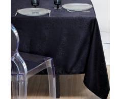 STOF N117087008 140 x 240 cm Mantel de poliéster 100 por ciento, negro