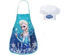 Frozen - Set de cocina infantil, delantal y gorro cheff (Suncity RNA101344)