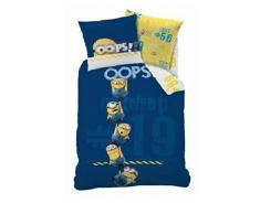 Juego de ropa de cama infantil 140 x 200 cm Minion (Oeko Tex Standard 100)